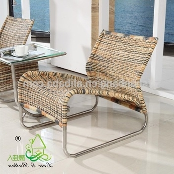 3 Rattan Colour Wicker Hand Woven Sunroom Comfortable Chaise Within Newest Chaise Lounge Chairs For Sunroom (View 1 of 15)
