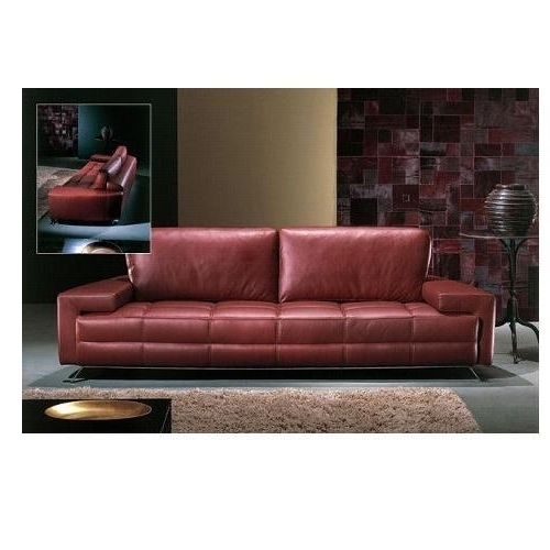 3 Seater Modern Leather Sofa At Rs 90000 /set (View 8 of 10)