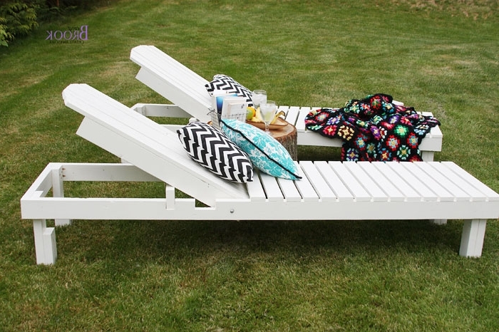 $35 Wood Chaise Lounges – Diy Projects (View 2 of 15)