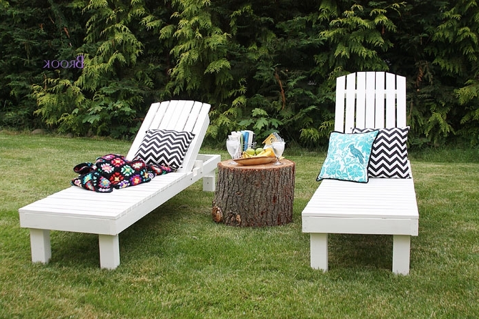 $35 Wood Chaise Lounges – Diy Projects Inside Well Known Inexpensive Outdoor Chaise Lounge Chairs (Gallery 8 of 15)
