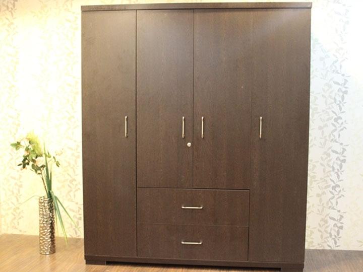 4 Door Wardrobes With Regard To Recent Rl Ga 1904 4 Door Wardrobe Furniture Online – Buy Furniture Online (View 4 of 15)