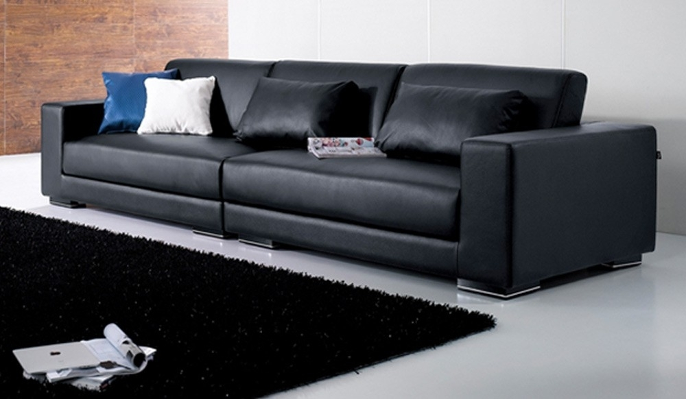 4 Seat Leather Sofas Regarding Popular Mac 4 Seater Leather Sofa, Top Grain Leather Delux Deco (Gallery 1 of 10)