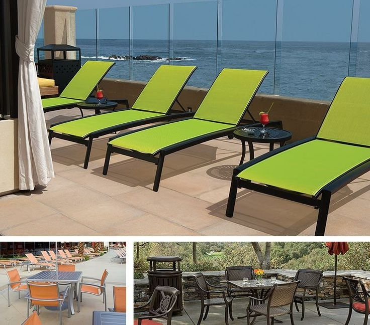 49 Best Incredible Hotel Pools & Patios Images On Pinterest Regarding Most Recent Commercial Outdoor Chaise Lounge Chairs (View 14 of 15)