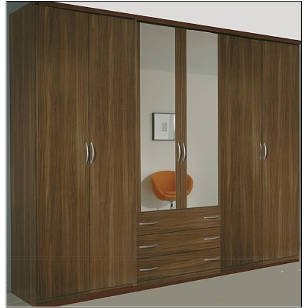 5 Door Wardrobe Designs For Bedroom (View 1 of 15)
