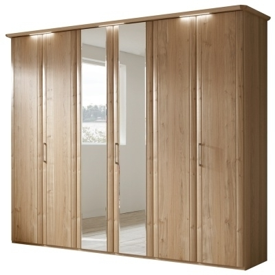 6 Door Wardrobe Bedroom Furniture Ohio Trm Furniture 6 Door Intended For Fashionable 6 Door Wardrobes Bedroom Furniture (View 1 of 15)