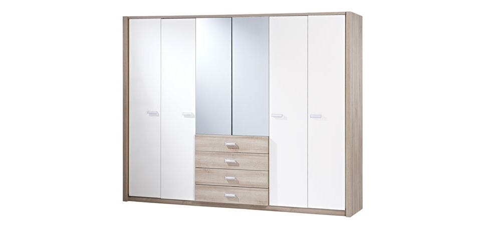 6 Door Wardrobes With Regard To Favorite Briza 6 Door Wardrobe (View 2 of 15)