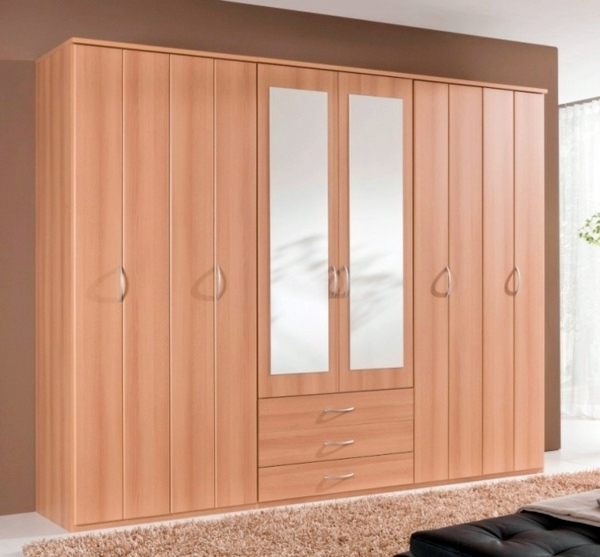 6 Doors Wardrobes Pertaining To Most Up To Date Chooses How To Right Doors For Wardrobes (View 4 of 15)