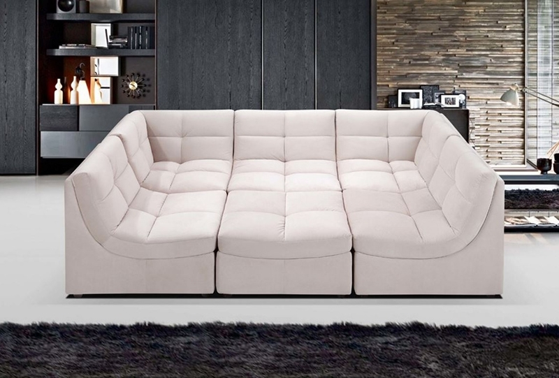 6 Piece Leather Sectional Sofas For Well Known Sofa Beds Design: Astonishing Ancient 6 Piece Leather Sectional (View 2 of 10)