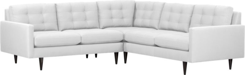 96X96 Sectional Sofas Pertaining To Newest Petrie 2 Piece Sectional Sofa (Gallery 4 of 10)