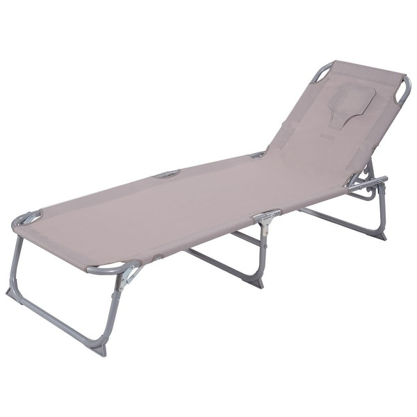 Adjustable Pool Chaise Lounge Chair Recliners In Trendy Costway Adjustable Pool Chaise Lounge Chair Recliner – Free (View 1 of 15)