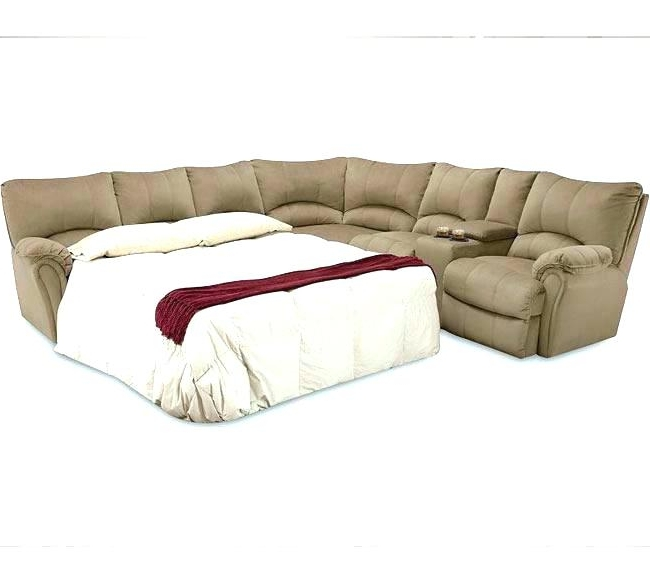 Adjustable Sectional Sofas With Queen Bed For Latest Sectional Sofa Sleeper With Chaise Sectional Sofa Sleeper Leather (View 2 of 10)