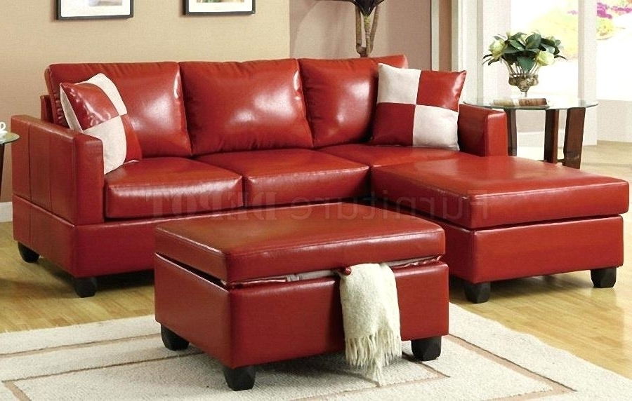 Adrop Within Red Leather Sectionals With Chaise (View 1 of 10)