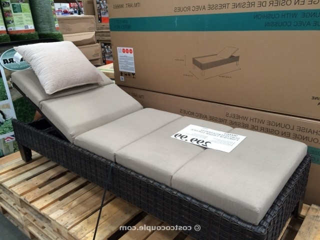 Agio International Fairview Chaise Lounge Regarding Best And Newest Costco Chaise Lounges (View 2 of 15)