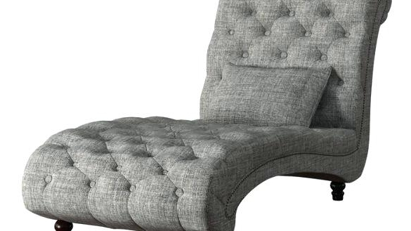 Alessia Chaise Lounge Tufted Chairs Inside Widely Used Tufted Chaise Lounge Chair Living Rooms Three Posts Tufted Chaise (View 5 of 15)
