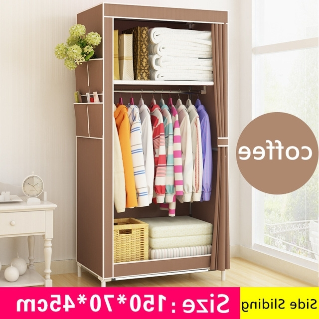 Aliexpress : Buy Fashion Simple Style Small Wardrobe Clothe In Widely Used Small Wardrobes (View 2 of 15)