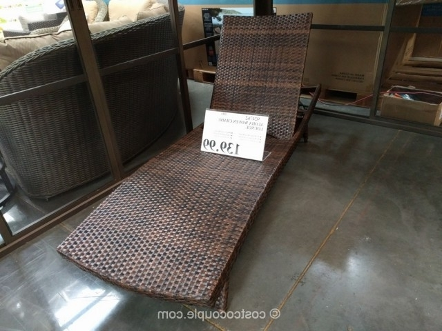 Aloha Woven Chaise Lounge Regarding Preferred Costco Chaise Lounges (View 3 of 15)
