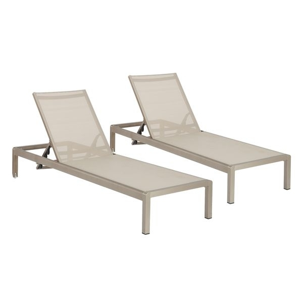 Aluminum Chaise Lounge Outdoor Chairs With Trendy 67 Best Outside Lounging Images On Pinterest (View 4 of 15)