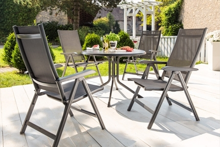Aluminum Chaise Lounge & Stack Chairs (View 3 of 15)