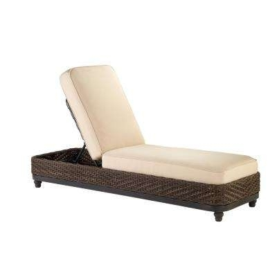 Aluminum – Outdoor Chaise Lounges – Patio Chairs – The Home Depot Throughout Most Up To Date Outdoor Chaises (View 4 of 15)