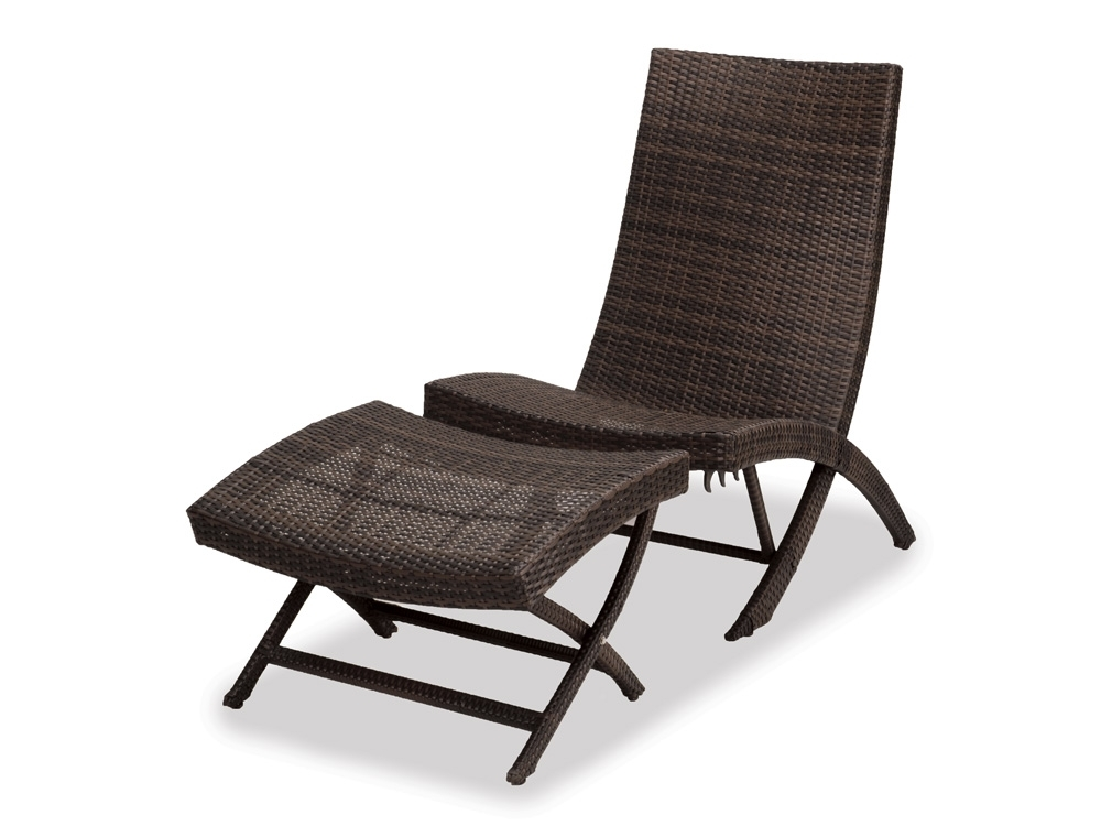 Amazing Outdoor Lounge Chair With Ottoman 3118818Php Havana Dining Throughout Preferred Chaise Lounge Chairs With Ottoman (View 2 of 15)