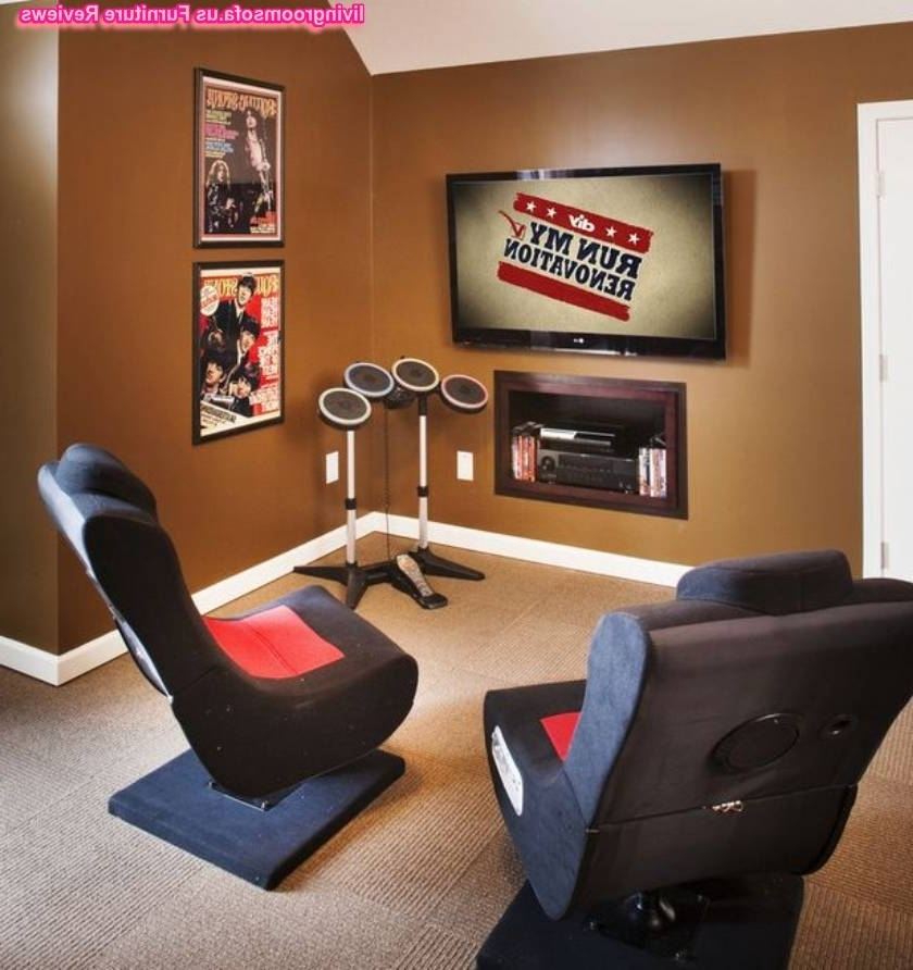 Amazing Rotating Chairs For Gaming Room Inside Widely Used Gaming Sofa Chairs (View 2 of 10)