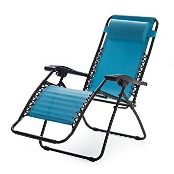 Amazon : Caravan Sports Zero Gravity Lounge Chair : Garden In Most Recent Zero Gravity Chaise Lounge Chairs (View 5 of 15)