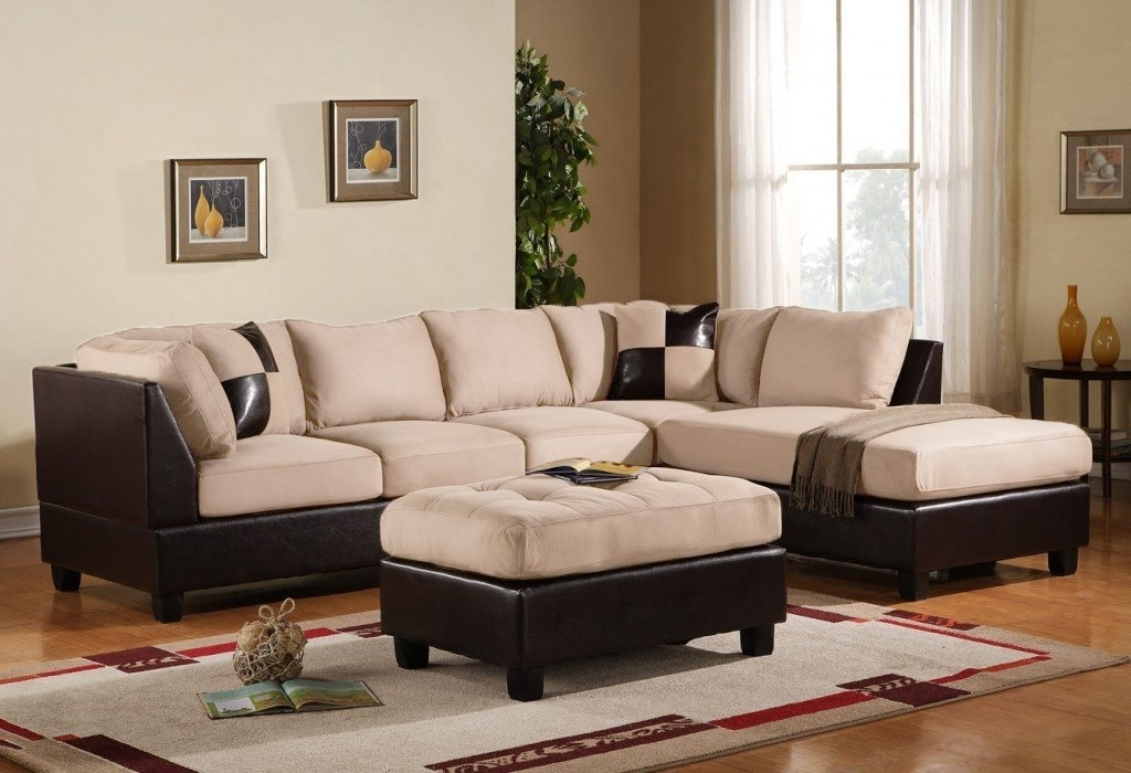 Amazon: Case Andrea Milano 3 Piece Microfiber Faux Leather Regarding Well Liked Microfiber Sectional Sofas (View 1 of 10)
