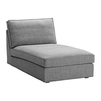 Amazon: Ikea Kivik Chaise Slipcover, Isunda Gray, 002. (View 1 of 15)