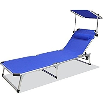 Amazon: Snail Aluminum Folding 4 Reclining Positions Chaise Pertaining To Most Current Portable Outdoor Chaise Lounge Chairs (View 4 of 15)