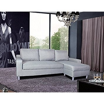 Amazon: Us Pride Furniture Kachy Fabric Convertible Sleeper With Well Known Gray Couches With Chaise (View 1 of 15)
