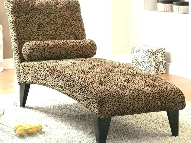 Animal Print Chaise Lounge Leopard Print Double Source A Chaise Pertaining To 2017 Zebra Print Chaise Lounge Chairs (View 3 of 15)