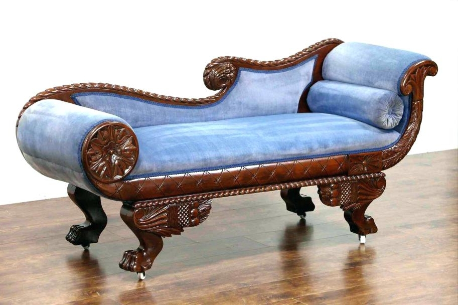 Featured Photo of Vintage Indoor Chaise Lounge Chairs
