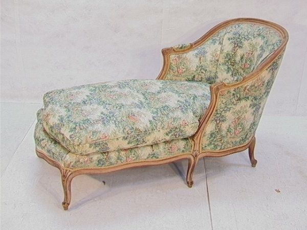 Antique Chaise Lounge (Gallery 13 of 15)
