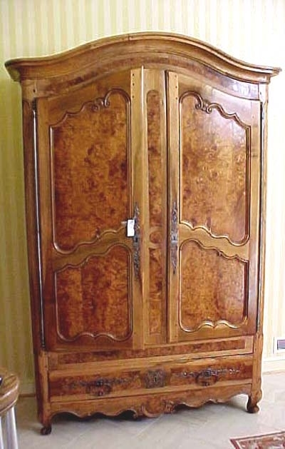 Antique French Wardrobes Throughout Popular Louis Xv Period Armoire (View 6 of 15)