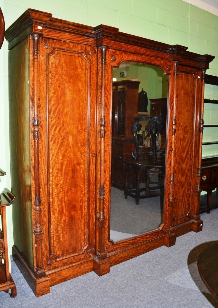 Antique Furniture, China Throughout 2018 Antique Breakfront Wardrobes (View 5 of 15)