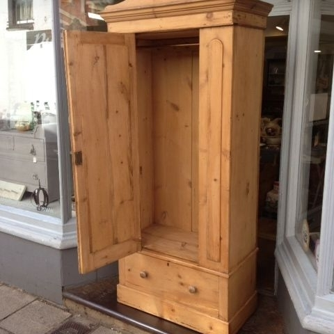 Antique Pine Wardrobe – The Consortium, Vintage Furniture With Regard To Widely Used Kids Pine Wardrobes (View 2 of 15)