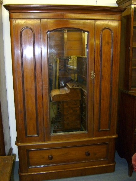Antique Single Wardrobes For Well Known Antique Furniture Warehouse – Antique Wardrobe – Victorian 19Th (View 3 of 15)