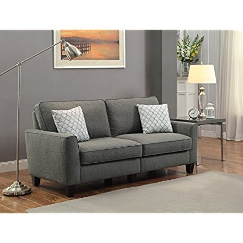 Apartment Size Sofas Within Most Recently Released Apartment Size Sofa: Amazon (View 4 of 10)