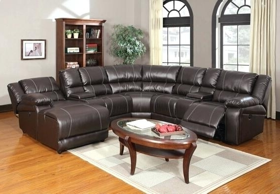 Appealing Leather Sectional Recliner Sofas Design – Gradfly (View 1 of 15)