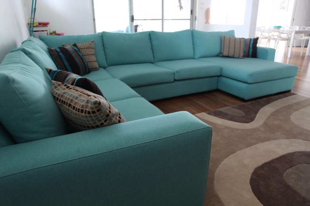 Aqua Sofas For Most Recent Corner Sofa Living Room Pinterest Rooms And Inside Aqua Sectional (View 3 of 10)