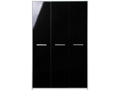 Argos Product Support For Kids' New Sywell 3 Door Wardrobe – White In Current Black Gloss 3 Door Wardrobes (View 11 of 15)