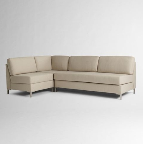 Armless Sectional Sofa Beds Design Outstanding Traditional Armless For Widely Used Armless Sectional Sofas (View 2 of 10)
