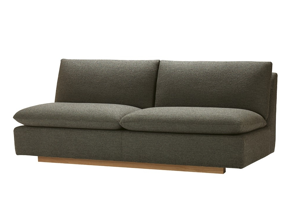Armless Sofa Banquette – Armless Sofa As Perfect Sofa For Small Pertaining To Newest Small Armless Sofas (View 2 of 10)