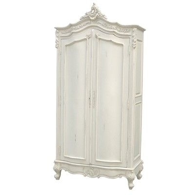 Armoires Within Most Current White French Armoire Wardrobes (View 3 of 15)