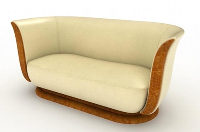 Art Deco Sofas Inside Most Recent Tulip Art Deco – English Sofas (View 2 of 10)