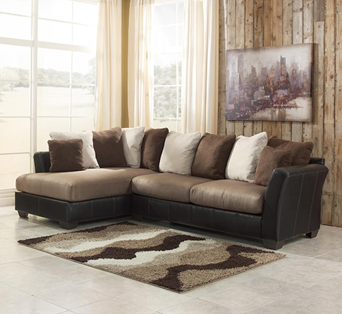 Ashley 14201 66 17 Masoli 2 Piece Sectional Sofa With Right Arm Chaise With Regard To Recent 2 Piece Sectionals With Chaise (View 2 of 15)