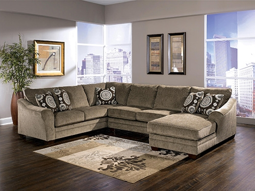 Ashley 36901 16 34 67 Cosmo 3 Piece Sectional Sofa With Left Arm With Fashionable 3 Piece Sectional Sofas With Chaise (View 3 of 15)