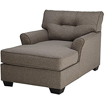 Ashley Chaise Lounges Inside Preferred Amazon: Modern Linen Fabric Recliner Sleeper Chaise Lounge (View 3 of 15)