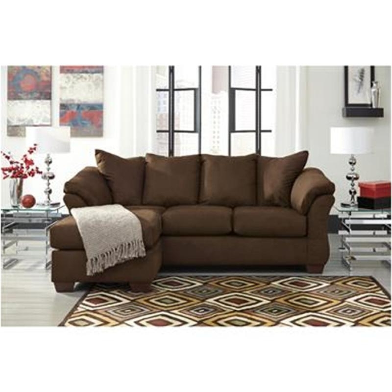 Ashley Furniture Sofa Chaises Intended For Most Recent 7500418 Ashley Furniture Darcy – Cafe Living Room Sofa Chaise (View 5 of 15)