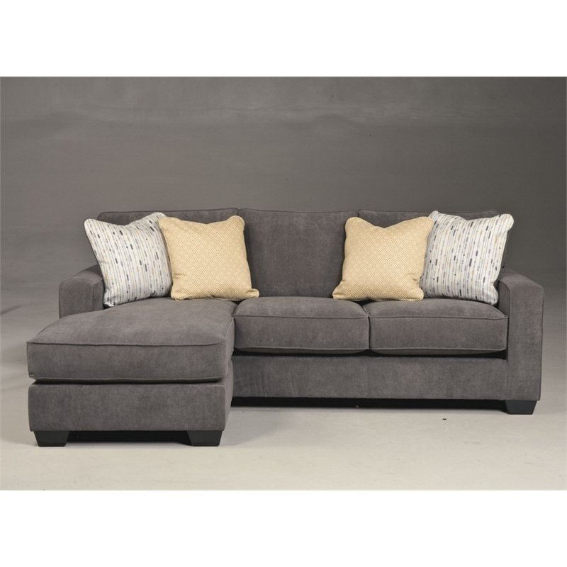 Ashley Furniture Sofa Chaises Within Most Popular Ashley Hodan Polyester Sofa Chaise In Marble – 7970018 – Ashley (View 9 of 15)